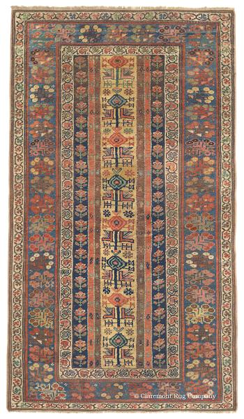 تجلی هنر در طرح و نقش فرش دستباف کردستان(کردی)