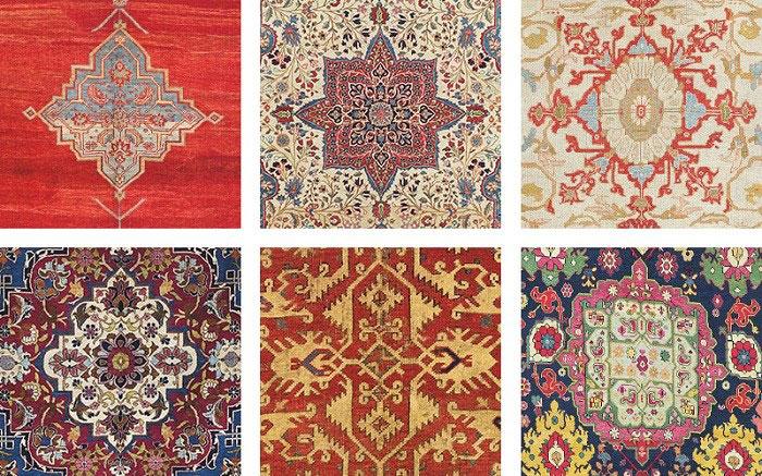 تفاوت فرش ایرانی و شرقی