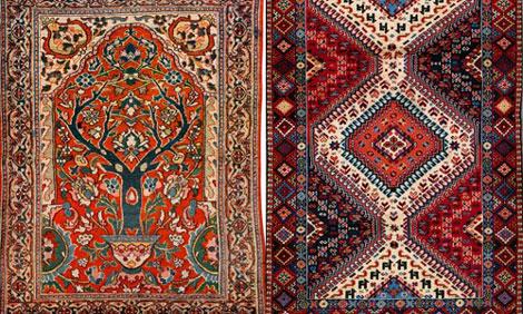 تفاوتهای فرش شرقی و ایرانی