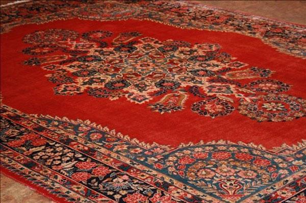رنگ های متداول در فرش ایرانی