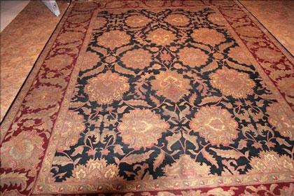 رنگهای فرشهای دستباف ایرانی و شرقی