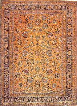 طرح و نقش فرش مشهد