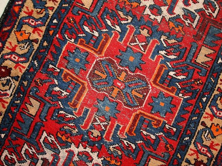ویژگی های فرش دستباف همدان به طور اجمالی