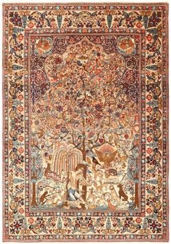 طرح قالی دستباف کرمان