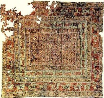 قدیمیترین فرشهای تاریخ